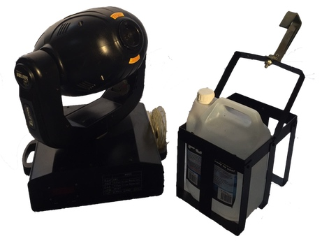 Rookmachine moving head